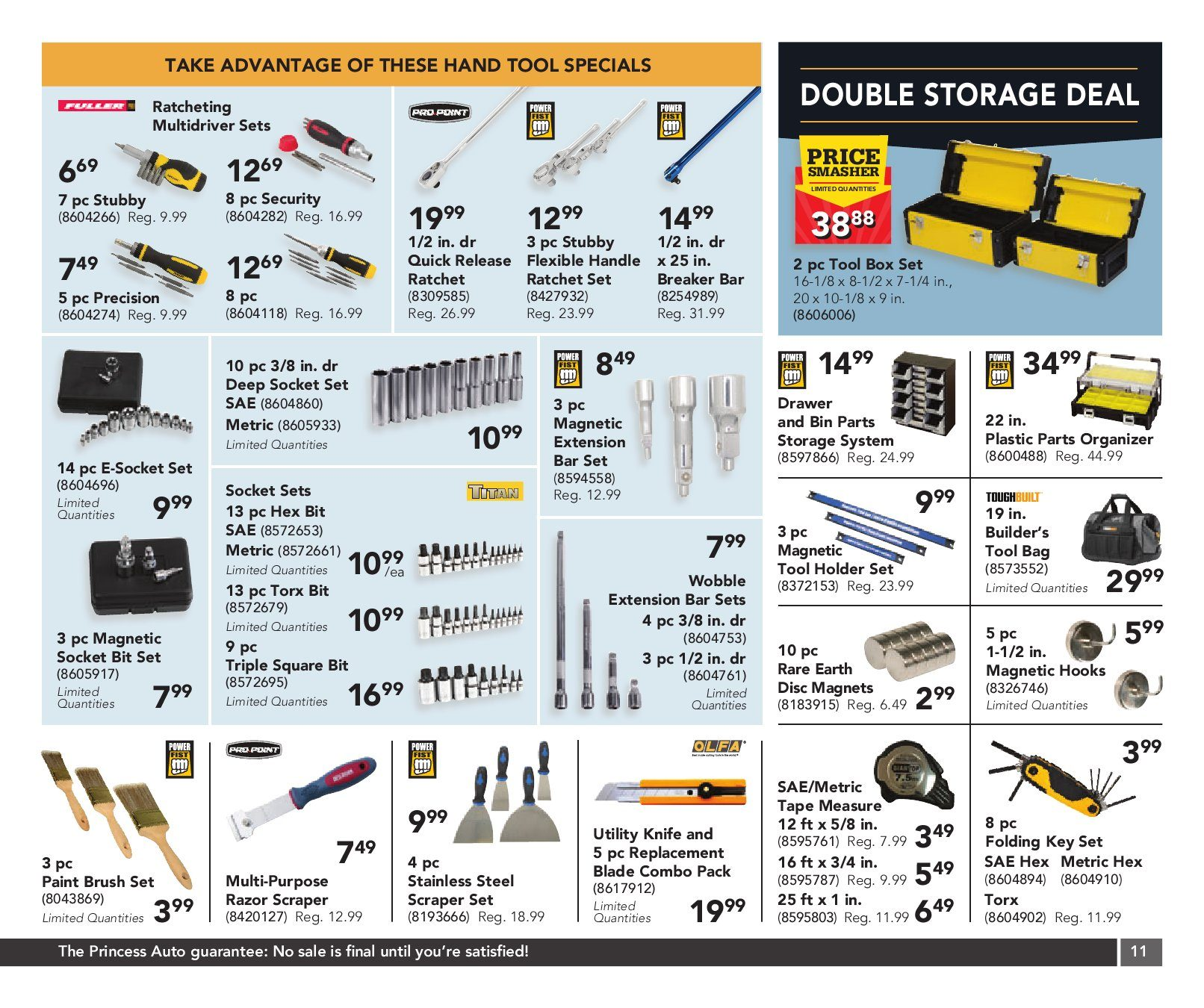 Princess Auto Weekly Flyer 2 Week Sale Gifts For Your Garage En Stove Wiring Diagram Nov 3 15
