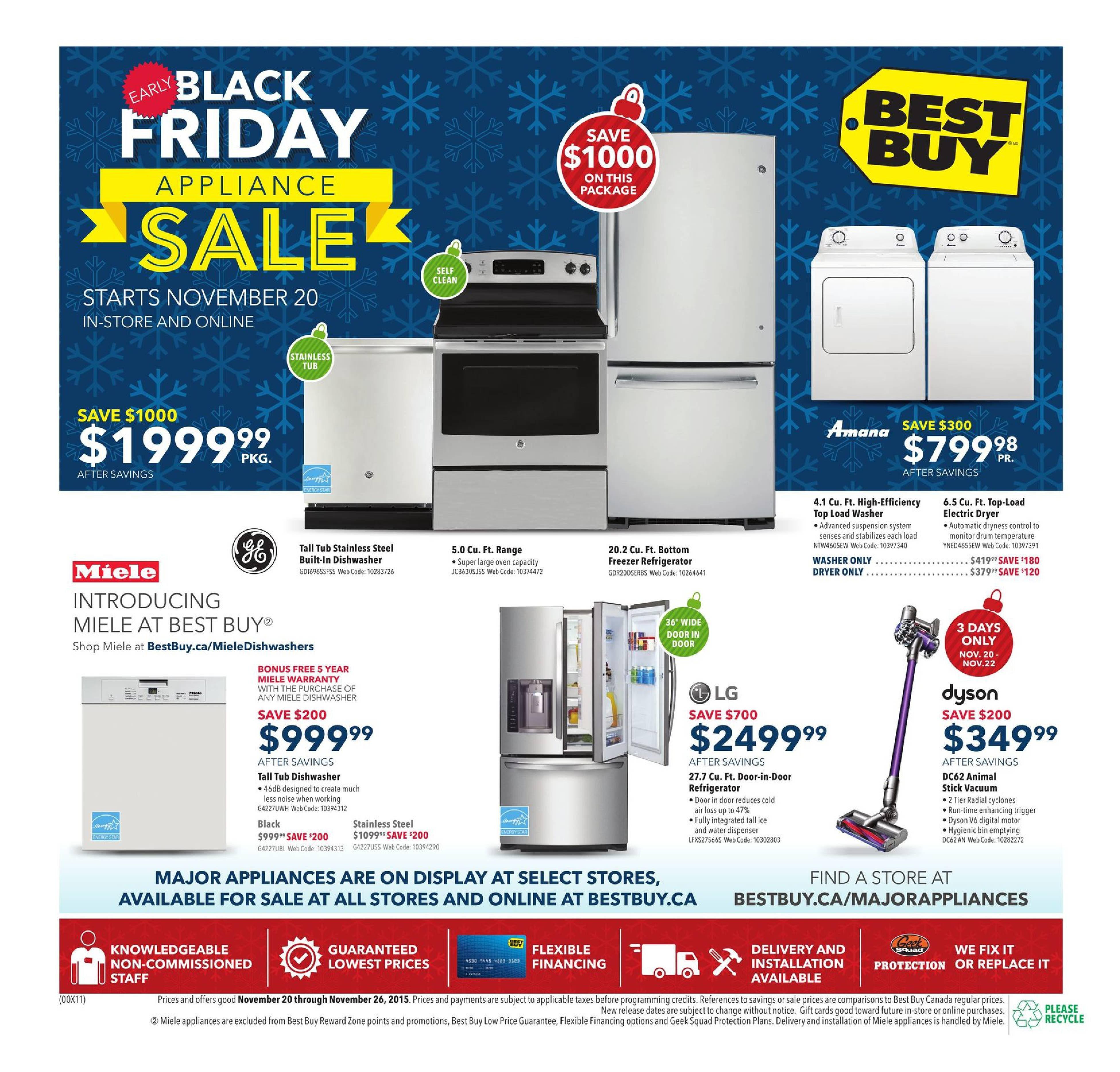 Best buy weekly flyer weekly early black friday appliance sale best buy weekly flyer weekly early black friday appliance sale nov 20 26 redflagdeals fandeluxe Choice Image