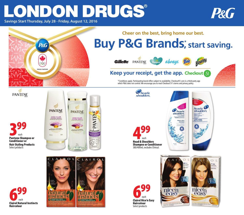 London Drugs Weekly Flyer Buy P&G Brands Start Saving Jul 28