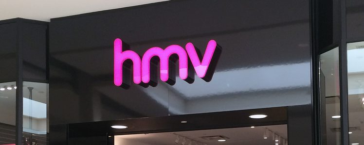 HMV Canada to Close All Stores Nationwide by April
