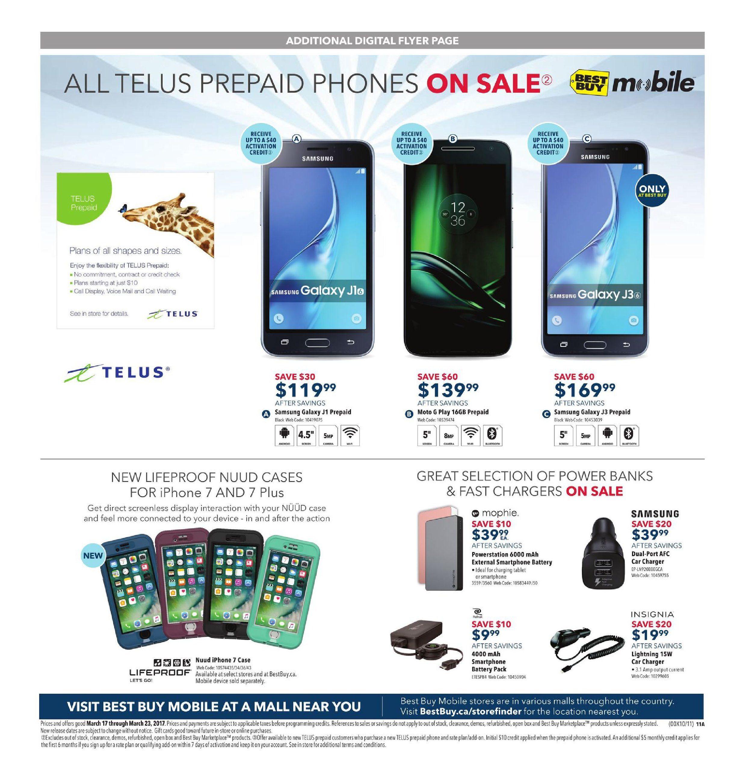 Best Buy Weekly Flyer - Weekly - Spring Sale - Mar 17 – 23