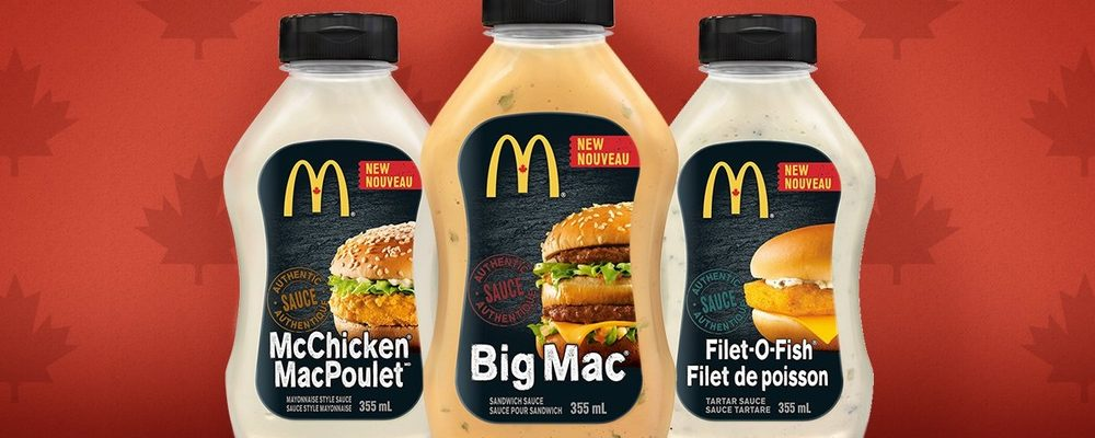 McDonald's Bringing Signature Sauces to Grocery Stores This Spring