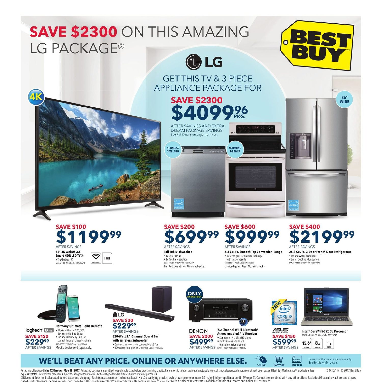 Best Buy Weekly Flyer May 12 18 G11 Electronics Early Philips Colour Tv