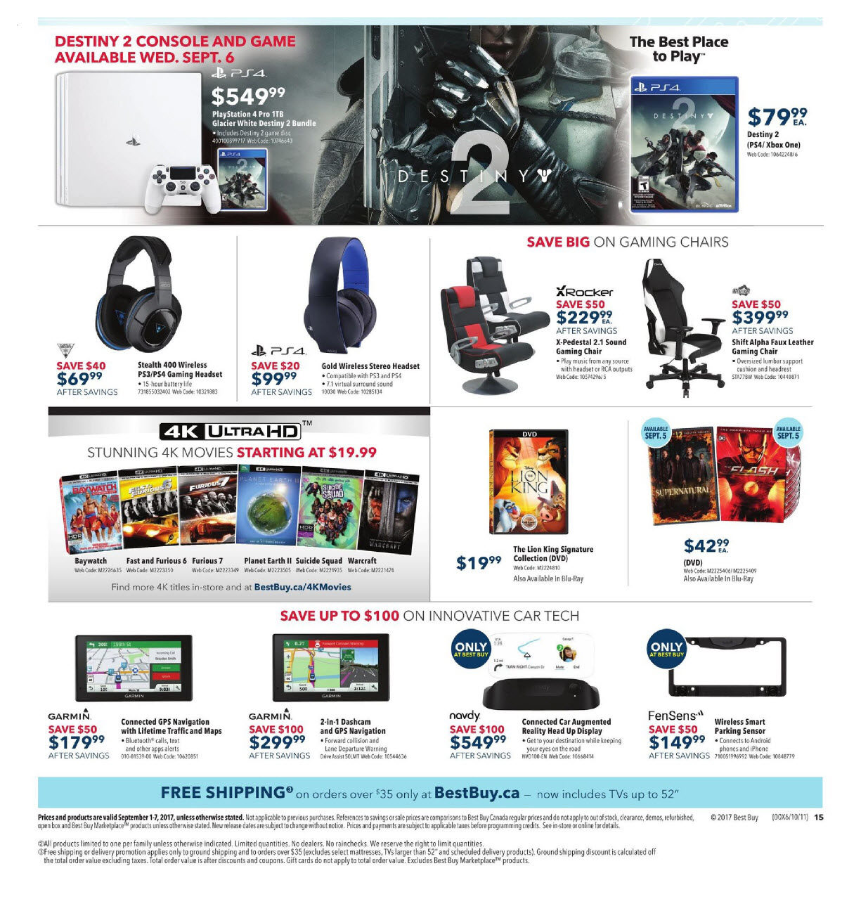 4e6ffbcca0add0 Best Buy Weekly Flyer - Weekly - Labour Day Sale - Sep 1 – 7 -  RedFlagDeals.com