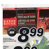 IGA - Weekly Specials - We Chow Down on Prices Flyer