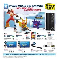 Best Buy - Thunder Bay Only - Bring Home Big Savings Flyer