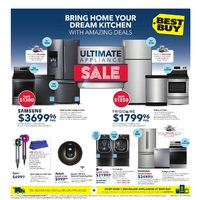 Best Buy - Weekly - Ultimate Appliance Sale Flyer