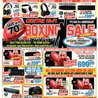 Centre HIFI - Weekly - Boxing Sale in October #3! Flyer
