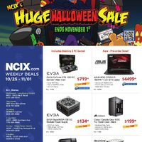 - Weekly Deals - Huge Halloween Sale Flyer