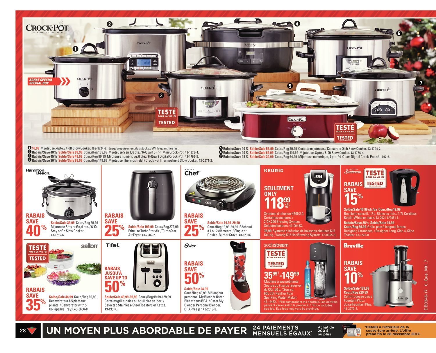Canadian Tire Weekly Flyer Bring On The Cheer Nov 9 Philips Rice Cooker Hd 3118 32 15