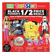 Toys R Us - Weekly - Black Fundays Flyer