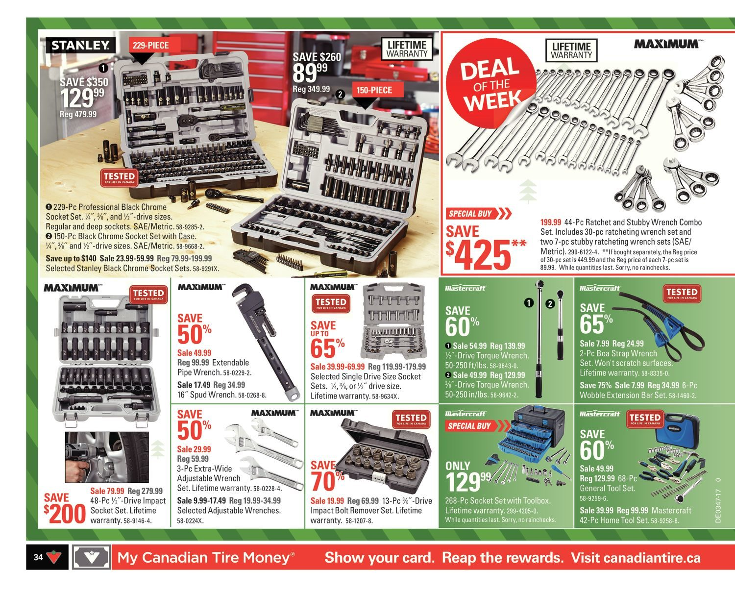 Canadian Tire Weekly Flyer Weekly Celebrate With Joy Nov 17  # Meuble De Tv Canadian Tire