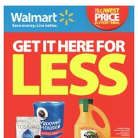 Walmart - Weekly - Get It Here For Less Flyer