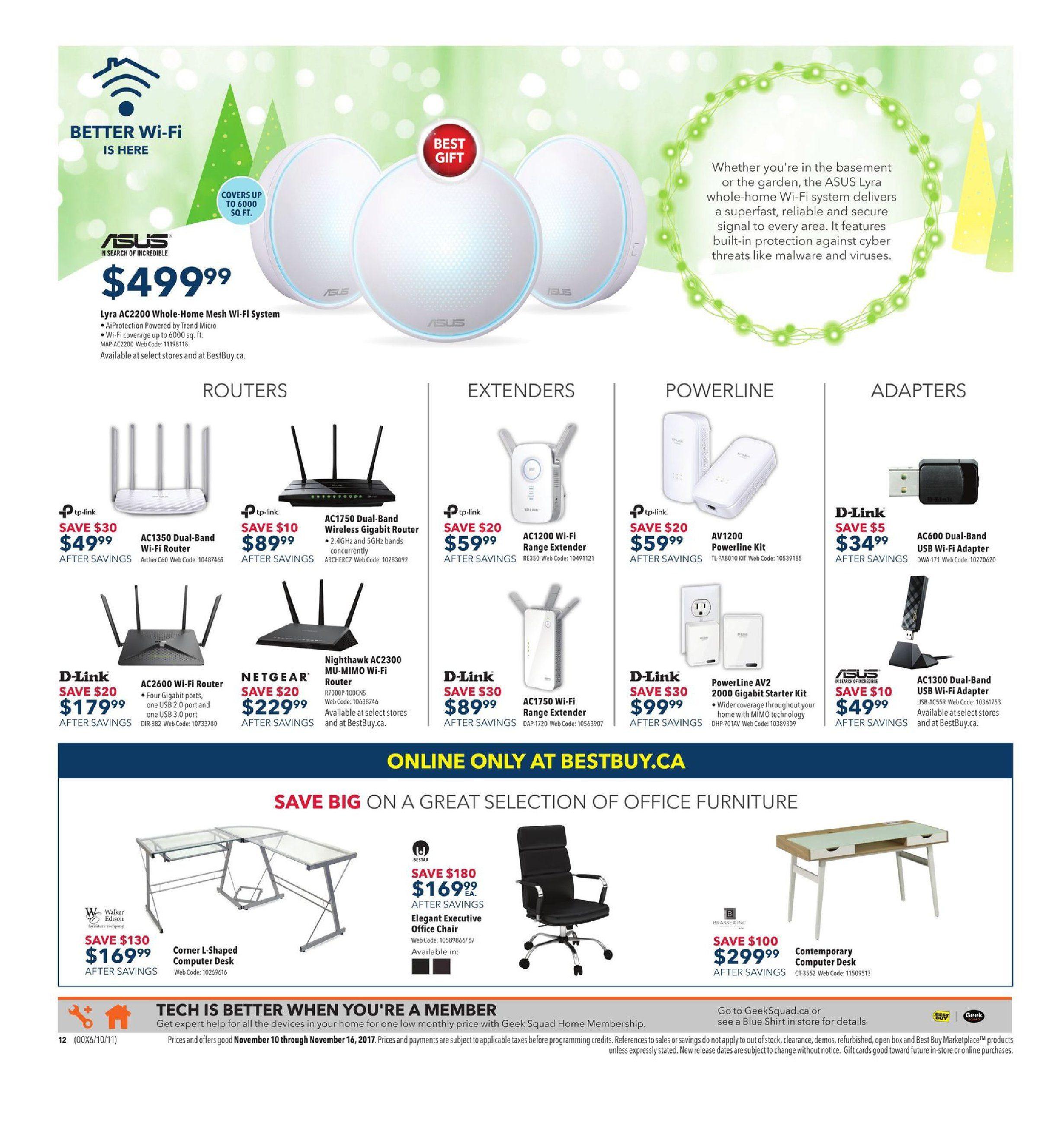 0c8e671222cfc Best Buy Weekly Flyer - Weekly - Get Amazing Deals on Dazzling Gifts - Nov  10 – 16 - RedFlagDeals.com