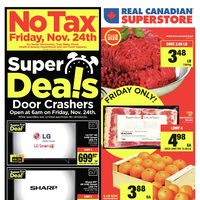 Real Canadian Superstore - Black Friday Super Deals! Flyer