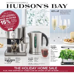 The Bay - The Holiday Home Sale Flyer