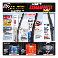 PartSource - Winter Driving Sale Flyer