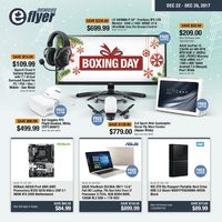 Newegg - eFlyer - Boxing Day Sale Flyer