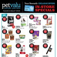 Pet Valu - In-Store Specials Flyer