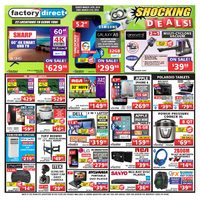 Factory Direct - Weekly - Shocking Deals! Flyer
