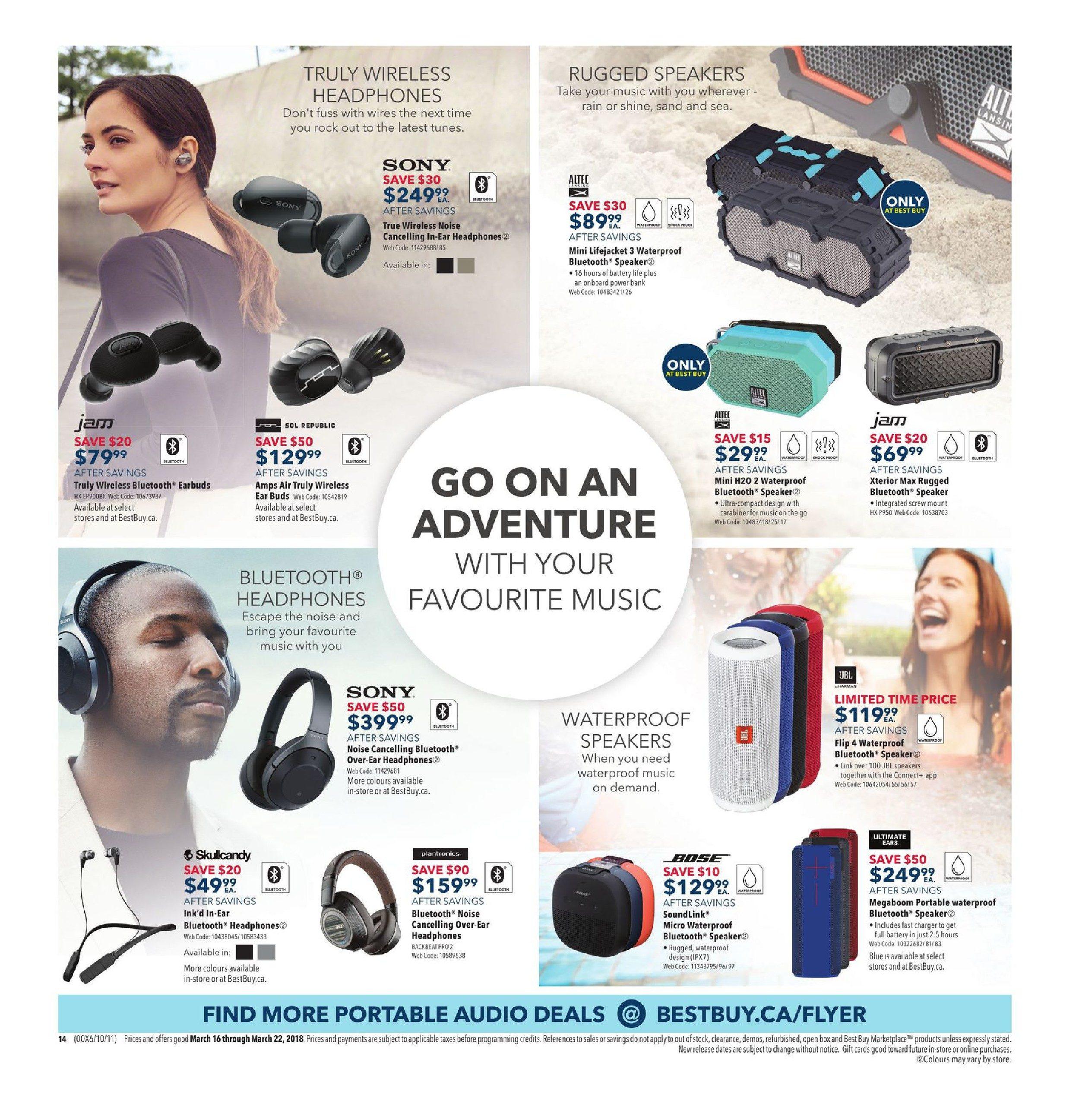 Best Buy Weekly Flyer - Weekly - Spring Appliance Sale - Mar 16 – 22
