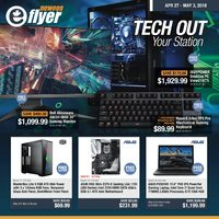 Newegg - Tech Out Your Station Flyer