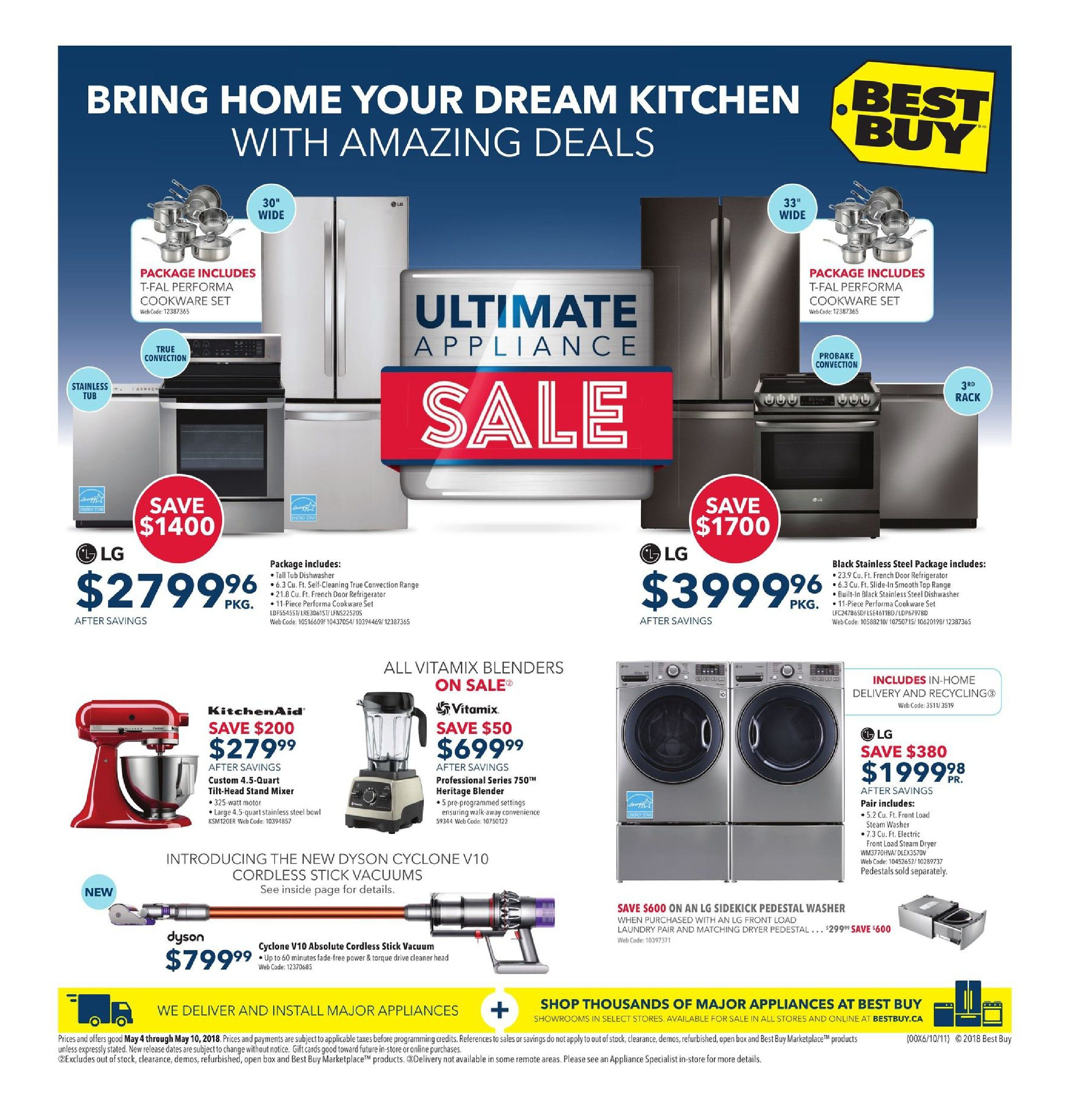 Best Buy Weekly Flyer Ultimate Appliance Sale May 4 3wrgb Led Driver Ver11 With Cmos Youtube 10
