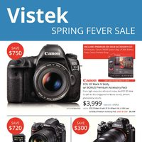 Vistek - Spring Fever Sale Flyer