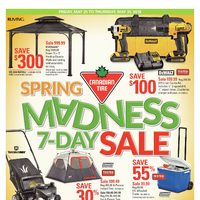Canadian Tire - Spring Madness 7-Day Sale Flyer