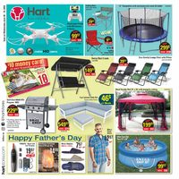 Hart Stores - 2 Weeks of Savings - Happy Father's Day Flyer