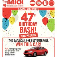 The Brick - 47th Birthday Bash! - Final Weekend! Flyer