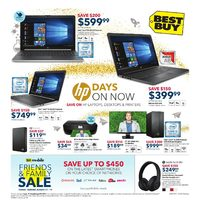 Best Buy - Weekly - HP Days On Now Flyer