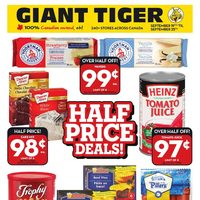 Giant Tiger - Weekly - Half Price Deals! Flyer