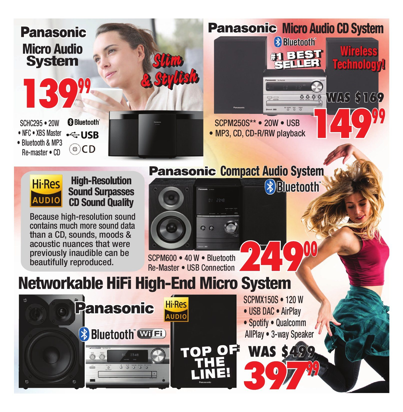 2001 Audio Video Weekly Flyer Final Week Home Theatre Sale Pioneer Mosfet 50wx4 Power Ac Or Dc Oct 5 11