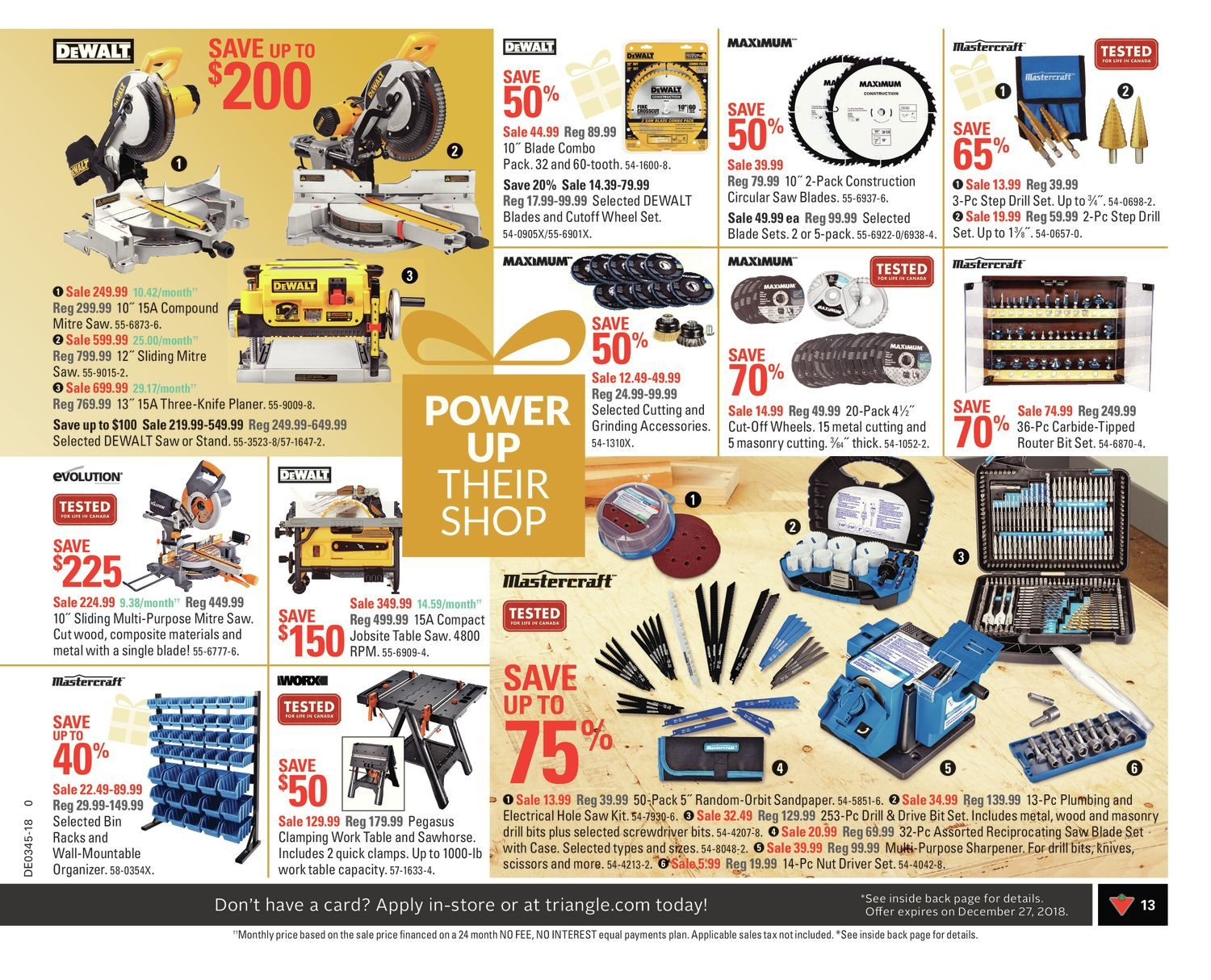 9a2d10148f Canadian Tire Weekly Flyer - Weekly - Bring The Joy! - Nov 2 – 8 -  RedFlagDeals.com