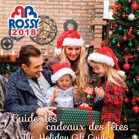 Rossy - The Holiday Gift Guide Flyer