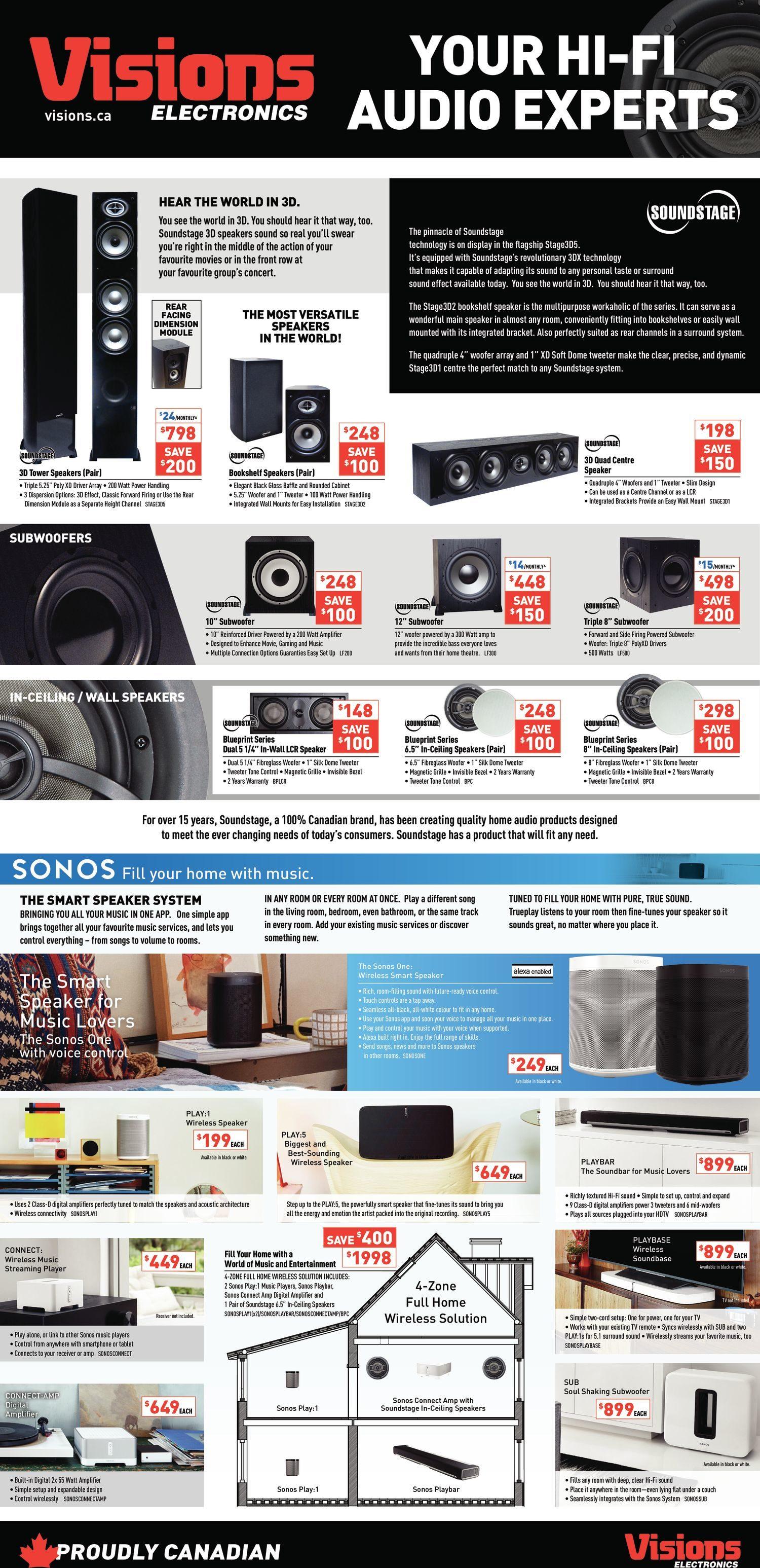 Visions Electronics Weekly Flyer - Weekly - Door Crasher