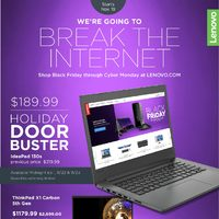 Lenovo Canada - We're Going To Break The Internet Flyer