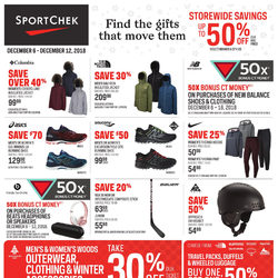 Sport Chek - Find The Gifts That Move Them Flyer