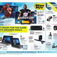 Best Buy - Weekly - Get Ready For The Game Flyer