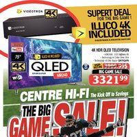Centre HIFI - Weekly - The Big Game Sale! Flyer