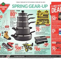 Canadian Tire - Weekly - Spring Gear-Up Flyer