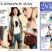The Bay - Weekly - The Accessories Sale Flyer
