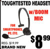 Toughtested Headset