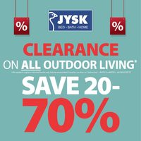 JYSK - Weekly - Clearance Sale Flyer