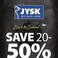 JYSK - Weekly - Back to School Flyer