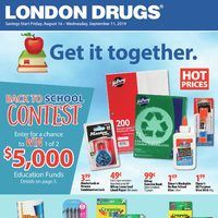 London Drugs - Back To School Flyer