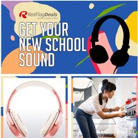 Online Retailers - Get Your New School Sound Flyer