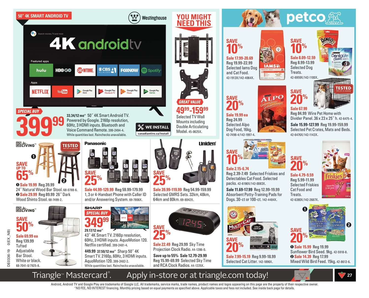 Canadian Tire Weekly Flyer - Weekly - Long Weekend! - Aug 30