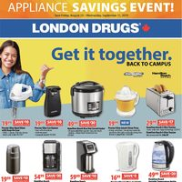 - Appliance Savings Event Flyer